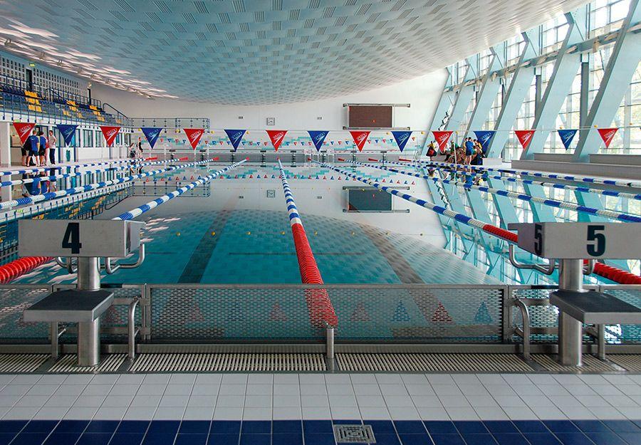 Схема сборки дорожку в 25 м бассейне
